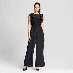 Target Black Lace Jumpsuit Size XL Xhilaration